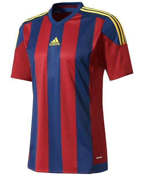cd64e3d73 adidas Men's ClimaCool® Striped Soccer Jersey & Reviews - T-Shirts ...