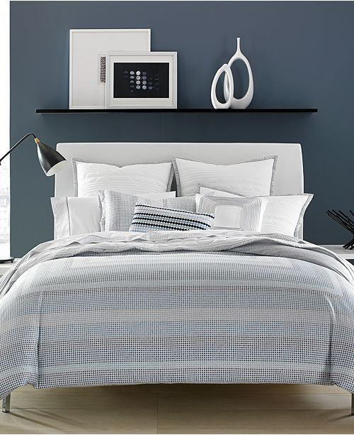 Hotel Collection  Engineered Dots Comforters, Created for Macy's