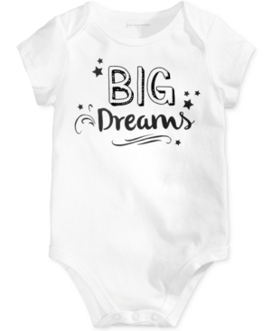 First Impressions Big Dreams Cotton Bodysuit Baby Boys  Girls Created for Macys