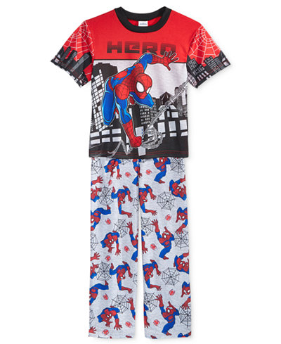 2-Pc. Spider-Man Hero Pajama Set, Little Boys (2-7) & Big Boys (8-20)