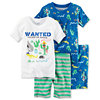 Carters Baby Boys or Girls 4-Piece Pajama Sets for $7.56 Each