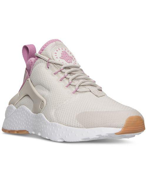 55c9727475385 ... Nike Women s Air Huarache Run Ultra Running Sneakers from Finish ...