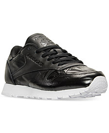 Reebok Women's Classic Leather Hype Metallic Casual Sneakers from Finish Line
