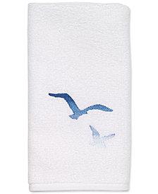 """Avanti Seagulls 13"""" x 18"""" Fingertip Towel"""