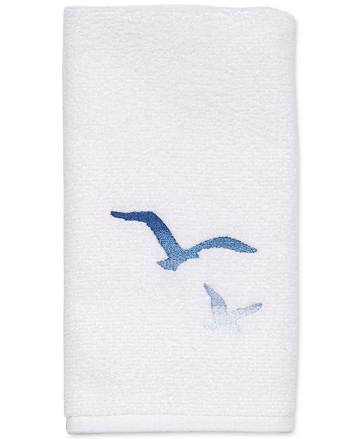 """Avanti - Seagulls 13"""" x 18"""" Fingertip Towel"""