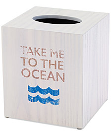 Avanti Beach Words Tissue Cover