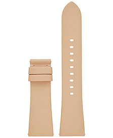 Michael Kors Access Women's Bradshaw Vachetta Leather Smart Watch Strap MKT9018