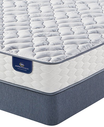 Serta Perfect Sleeper® Woodruff 9.5 Firm Mattress Set- Queen