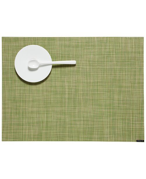 "Chilewich Mini Basketweave Placemat 14"" x 19"""