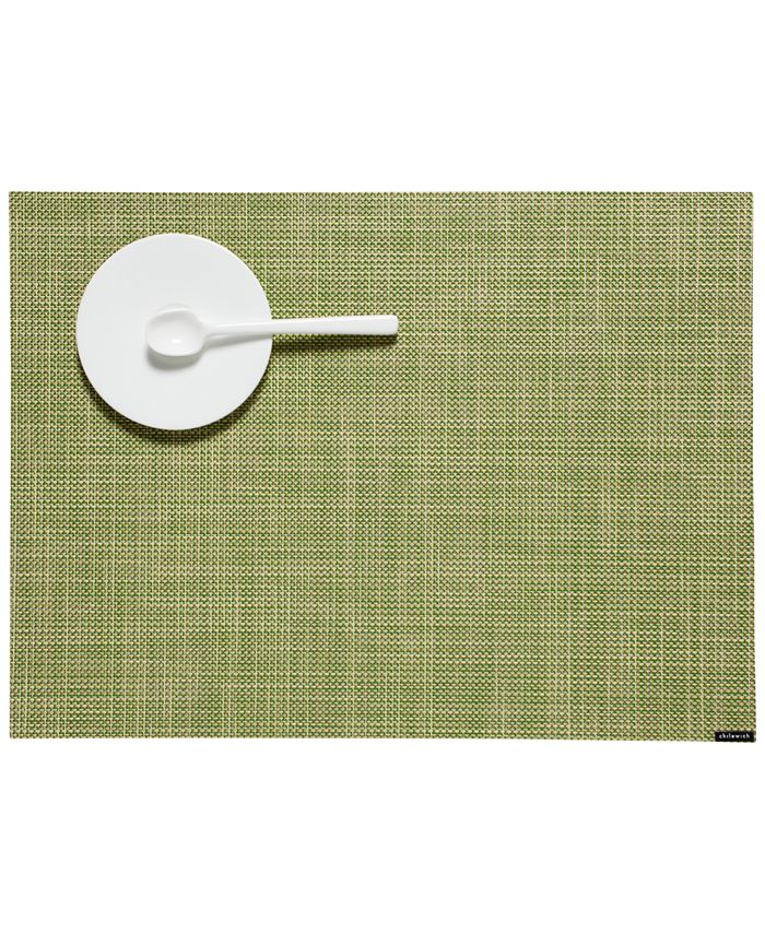 Chilewich - Mini Basketweave Turquoise Placemat