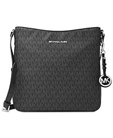 Michael Kors Signature Jet Set Large Travel Messenger