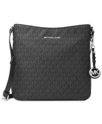 michael kors signature jet set large travel messenger handbags rh macys com