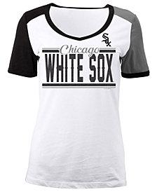 5th & Ocean Women's Chicago White Sox CB Sleeve T-Shirt