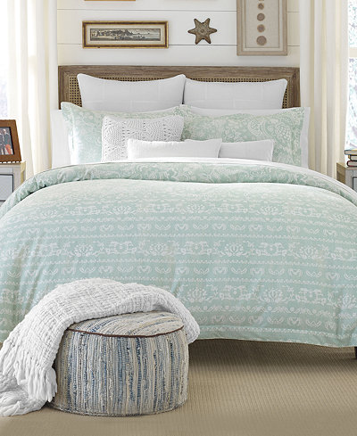 CLOSEOUT! Tommy Hilfiger Kings Road Paisley Bedding Collection