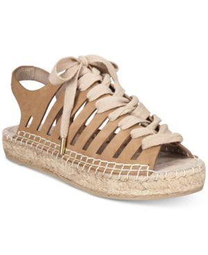 Seven Dials Wylie Lace-Up Espadrille Sandals Women's Shoes