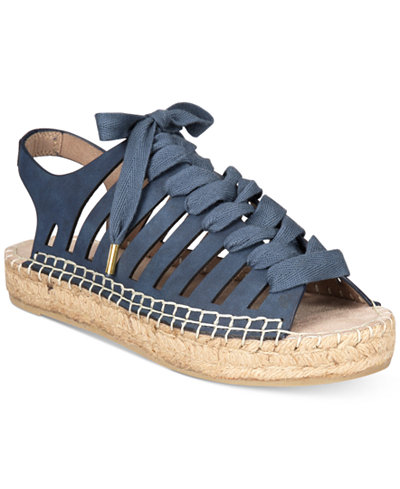 Seven Dials Wylie Lace-Up Espadrille Sandals