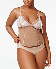 Inspire Psyche Terry Plus Size Lace-Cups Camisole IPTS059