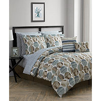 Jessica Sanders Drake Reversible 12-Pc.Comforter Sets (Queen)