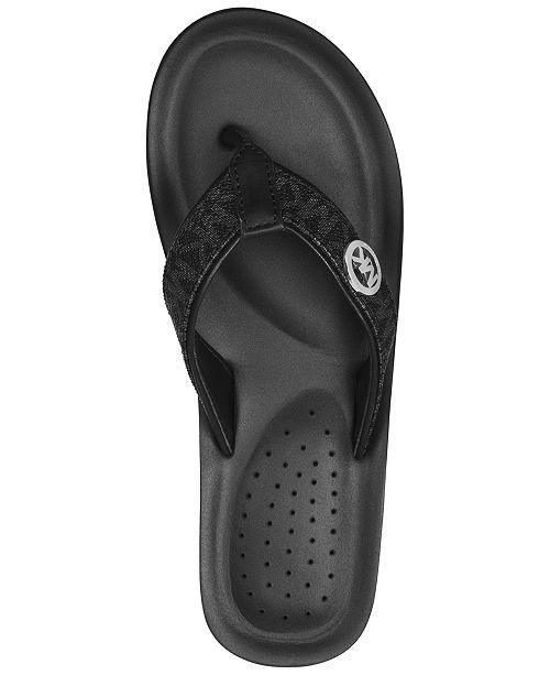 adb2542bf Michael Kors Gage Platform Flip-Flops   Reviews - Sandals   Flip ...