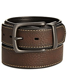 Men's Pebbled Reversible Belt
