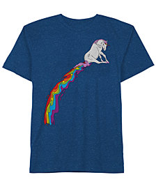 Magical Rainbow Men's T-Shirt by Hybrid Apparel