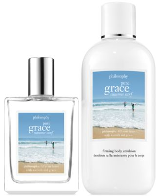 philosophy 2-Pc. Pure Grace Summer Surf Gift Set - Gifts & Value ...