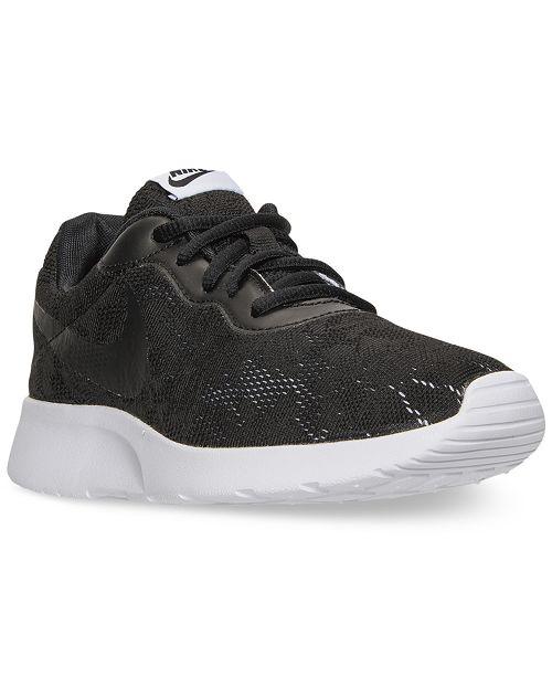 Nike Women S Tanjun Eng Casual Sneakers From Finish Line