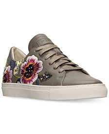Skechers Women's Vaso Floral Casual Sneakers from Finish Line