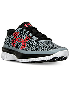 Under Armour Big Boys' ClutchFit RebelSpeed Running Sneakers from Finish Line