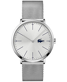 Lacoste Men's Moon Stainless Steel Mesh Bracelet Watch 40mm 2010901