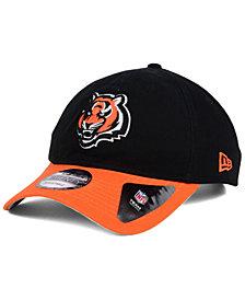 New Era Cincinnati Bengals Relaxed 2Tone 9TWENTY Strapback Cap