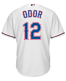 Majestic Men's Rougned Odor Texas Rangers Replica Jersey
