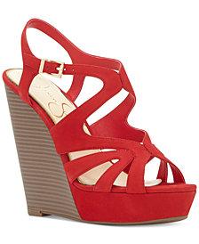 Jessica Simpson Brissah Strappy Platform Wedge Sandals