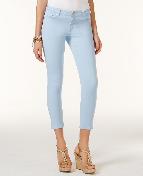 498bed5ec2f Michael Kors Izzy Cropped Skinny Jeans   Reviews - Jeans - Women ...