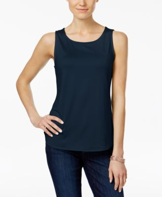 Image of Charter Club Sleeveless Tank Top, Created for Macy's