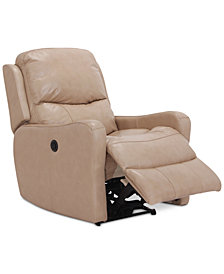 Oliver Leather Power Recliner