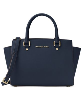 michael kors selma medium satchel handbags accessories macy s rh macys com