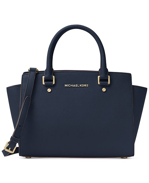 69d4b8f667cb Michael Kors Selma Medium Satchel  Michael Kors Selma Medium Satchel ...