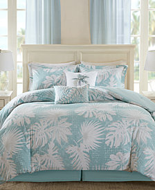 Harbor House Palm Grove 6-Pc. Botanical Print California King Comforter Set