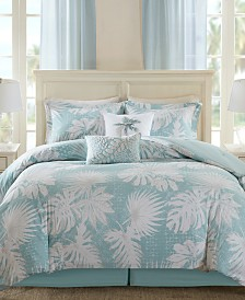 Harbor House Palm Grove 6-Pc. Botanical Print King Comforter Set