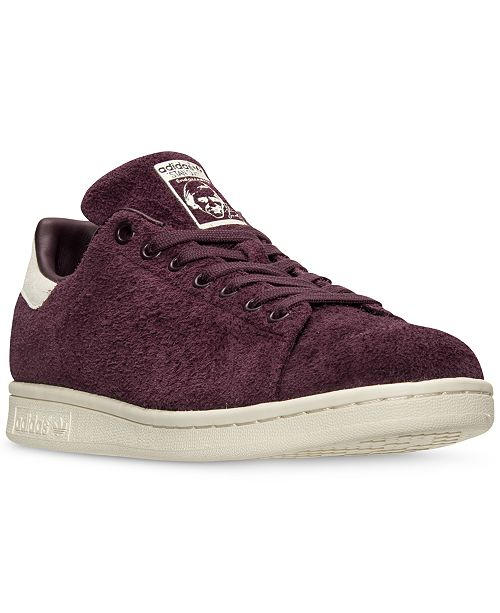 adidas Men's Stan Smith Bounce Suede Casual Sneakers from Finish Line
