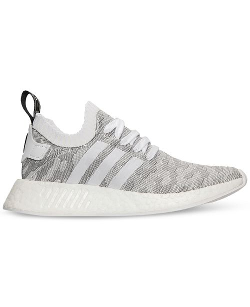 8743666b4 adidas Women s NMD R2 Primeknit Casual Sneakers from Finish Line ...