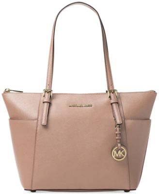 Image of MICHAEL Michael Kors Jet Set East West Top Zip Large Tote