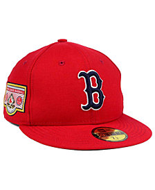 New Era Boston Red Sox Banner Patch 2.0 59FIFTY Cap