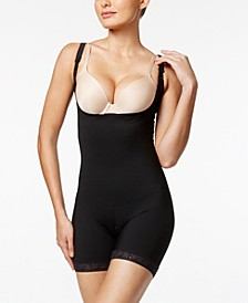 Women's Moderate Tummy-Control Durafit Open Bust Body Shaper 018493