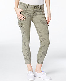 Kut from the Kloth Petite Brigitte Printed Skinny Jeans