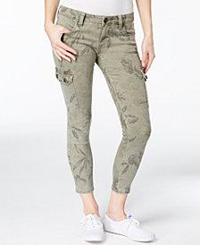 Kut from the Kloth Petite Brigitte Printed Skinny Jeans