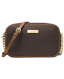 MICHAEL Michael Kors Signature Jet Set Item East West Crossbody