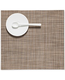 "Chilewich Square Basketweave Woven 13"" x 14"" Vinyl Placemat"