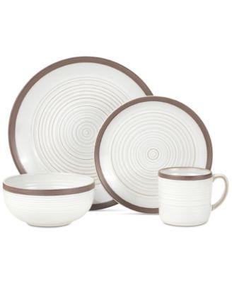 main image  sc 1 st  Macyu0027s & Pfaltzgraff Carmen 16-Piece Dinnerware Set - Dinnerware - Dining ...